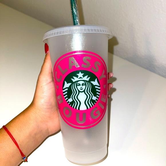 """Classy Bougie"" Starbucks Cup"